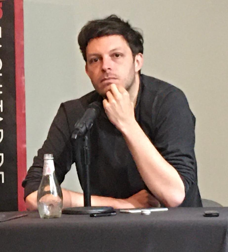 Rodrigo Fluxá en charla Facultad de Comunicación y Letras (UDP)