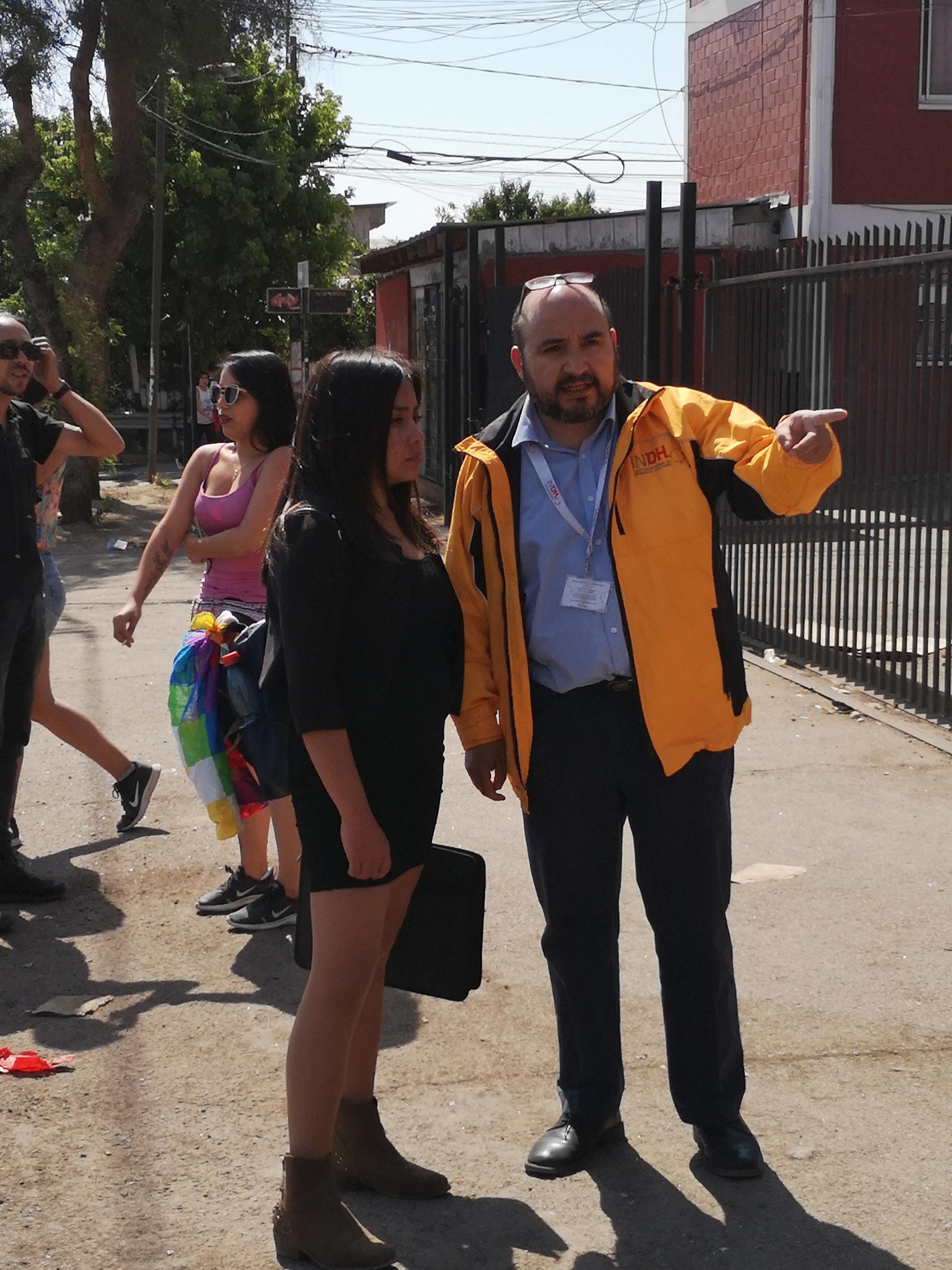 Instituto Nacional de Derechos Humanos en Lo Hermida